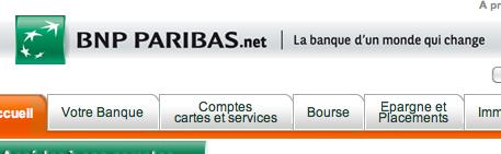 BNPPARIBAS.NET MON COMPTE
