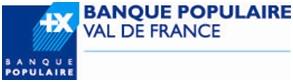 BANQUE POPULAIRE VAL DE FRANCE PARTICULIERS
