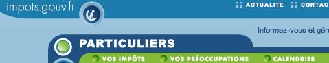 www.impots.gouv.fr particuliers espace abonné accédez à votre espace