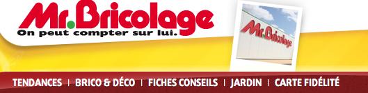 MONSIEUR BRICOLAGE CATALOGUE EN LIGNE