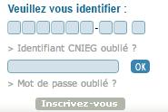 WWW.CNIEG.FR - Simulation de pension, Mon Compte