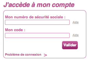 WWW.CNMSS.FR - Mon Compte en Ligne, Attestation de droits, Remboursements